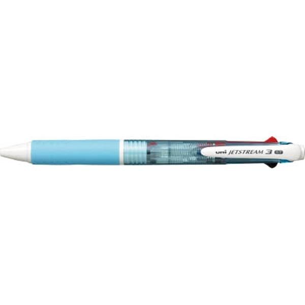 三菱鉛筆MITSUBISHIPENCIL[ボールペン]ジェットストリーム3色ボールペン(水色)SXE340007.8
