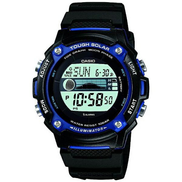 カシオCASIO[ソーラー時計]スポーツギア(SPORTSGEAR)W-S210H-1AJF[WS210H1AJF]