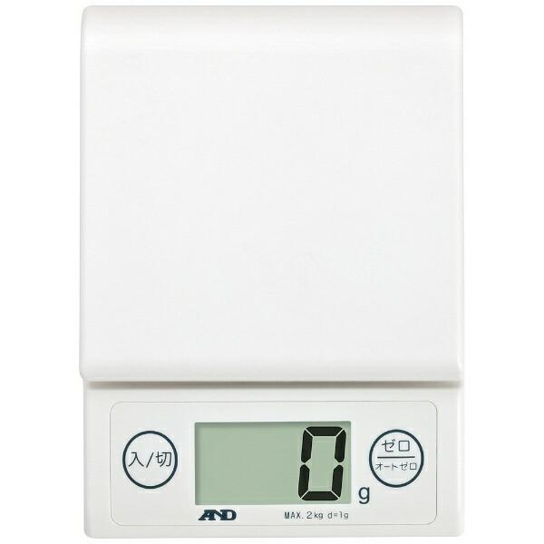 A&Dエー・アンド・デイデジタルホームスケール(2kg)UH-3303-Wホワイト[UH3303W]【rb_pcp】