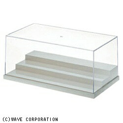 ウェーブWAVET・ケース【L】ステージミルキーホワイト(幅280×高113×奥行150mm積み重ね可能)