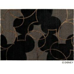 スミノエSUMINOEラグパールライン(100×140cm/ブラック)