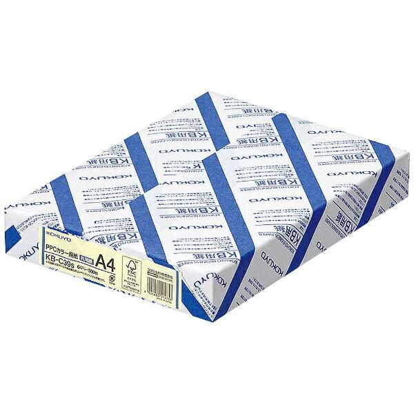 コクヨKOKUYOPPCカラー用紙(共用紙)(A4・500枚/アイボリー)KB-C39NS[KBC39NS]【wtcomo】