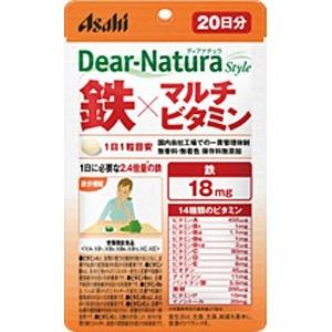 アサヒグループ食品AsahiGroupFoodsDear-Natura(ディアナチュラ)ディアナチュラスタイル鉄×マルチビタミン(20粒)〔栄養補助食品〕【wtcool】