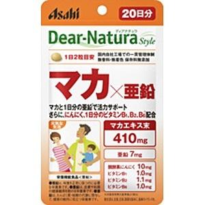 アサヒグループ食品AsahiGroupFoodsDear-Natura(ディアナチュラ)ディアナチュラスタイルマカ×亜鉛(40粒)〔栄養補助食品〕【wtcool】