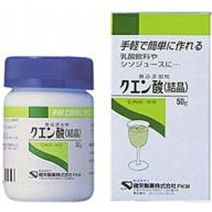 健栄製薬KENEIPharmaceutical【wtcool】クエン酸結晶(食添)(50g)【代引きの場合】大型商品と同一注文不可・最短日配送