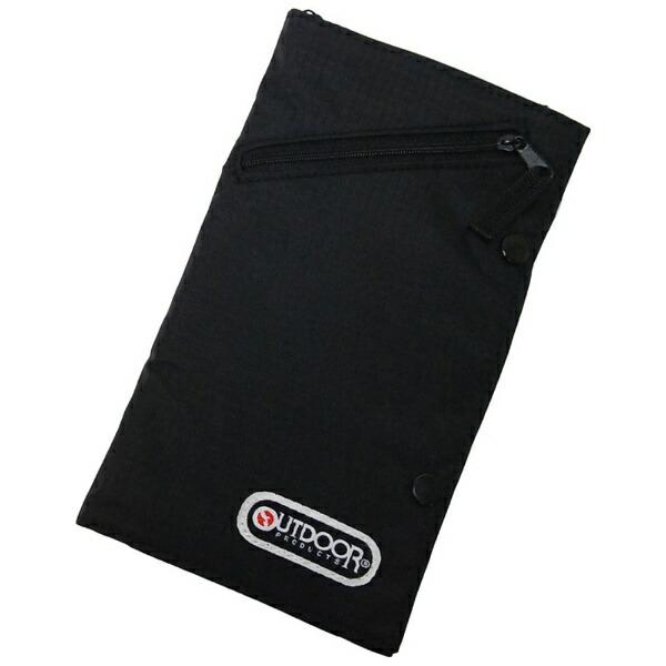アウトドアプロダクツOUTDOORPRODUCTSパスポートケースOD021ブラック[OD021BK]