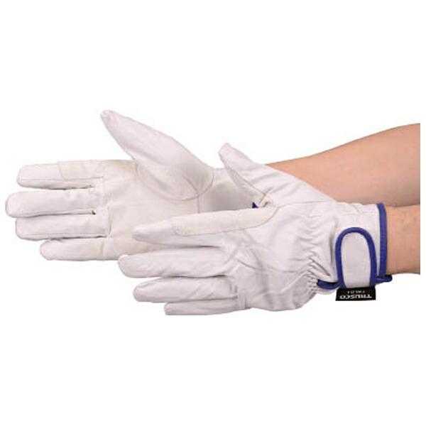 トラスコ中山マジック式防寒豚本革手袋当て付タイプLLサイズTWLGLL