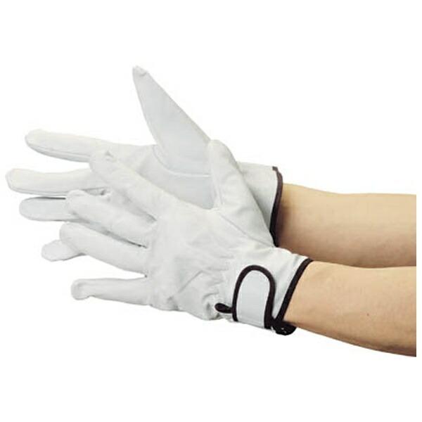 トラスコ中山マジック式革手袋スタンダードタイプフリーサイズJK717