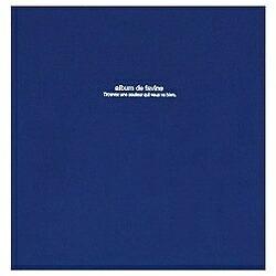 ナカバヤシNakabayashi100年台紙「ドゥファビネ」(Lサイズ/ダークブルー)アH-LD-191-DB[アHLD191DB]