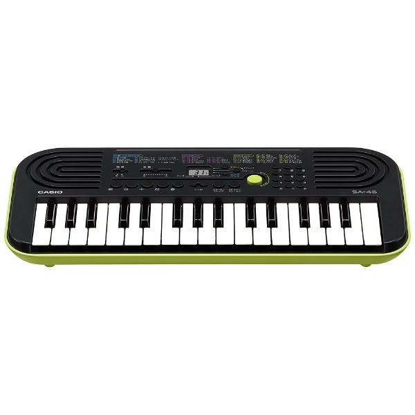 カシオCASIOミニキーボード(32ミニ鍵盤)SA-46[32ミニ鍵盤][電子キーボードピアノオルガン小型SA46]