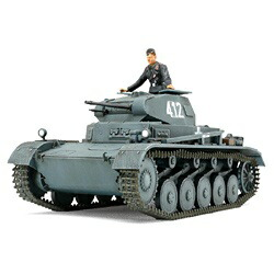 タミヤTAMIYA1/48ミリタリーミニチュアシリーズNo.70ドイツII号戦車A〜C型(フランス戦線)