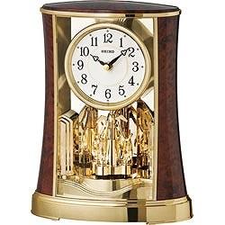 セイコーSEIKO置き時計ブラウンBY427B