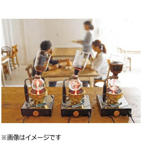ハリオHARIOコーヒーサイフォンテクニカ3人用TCA-3[TCA3]