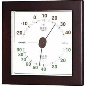 エンペックスEMPEXINSTRUMENTSTM-7629温湿度計ウエストンウォルナット[アナログ][TM7629]