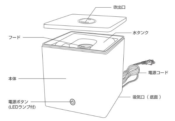 ドリテックdretec【アウトレット品】DF-502加湿器ピンク[超音波式]【生産完了品】DF502【kk9n0d18p】