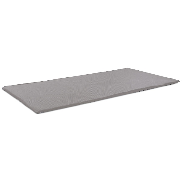 オーシンOSHINファインエアーポータブルシングルサイズ(95×200×2cm/グレー)