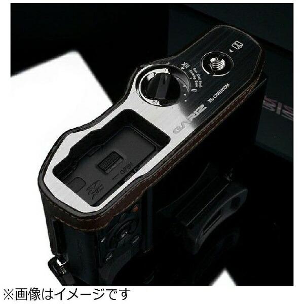 Kカンパニー本革カメラケース【オリンパスOM-DE-M10用】(ブラウン)XS-CHEM10BR[XSCHEM10BR]