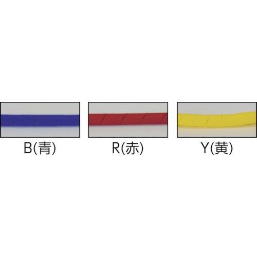 トラスコ中山スパイラルチューブ10m結束径1.5~10.0青TSP3B