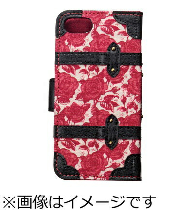 サンクレストSUNCRESTiPhone5c/5s/5用Girlsiトランクカバー(ヴィンテージローズ)iD5S-BC31[ID5SBC31]