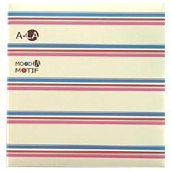 ナカバヤシNakabayashiフエルアルバム白フリー台紙20枚(Lサイズ)アラモードモチーフ20L-93[20L93]