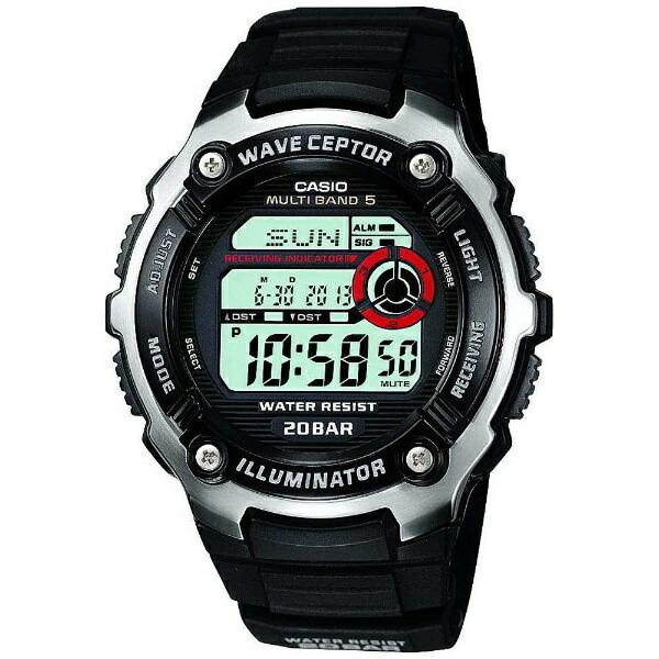 カシオCASIO[電波時計]スポーツギア(SPORTSGEAR)「MULTIBAND5」WV-M200-1AJF[WVM2001AJF]