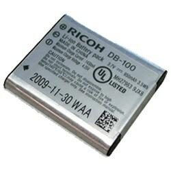 リコーRICOHリチャージャブルバッテリーDB-100[DB100]