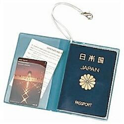 JTBSWTパスポートカバークリア青