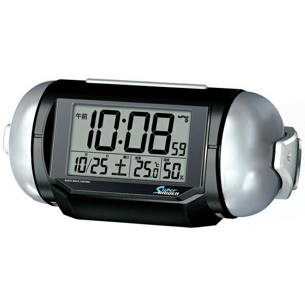 セイコーSEIKO電波目覚まし時計「スーパーライデン(SuperRAIDEN)」NR523K[NR523K]