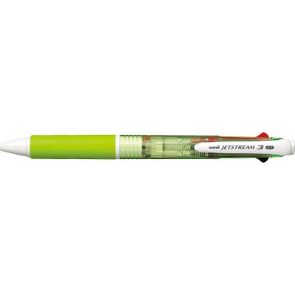 三菱鉛筆MITSUBISHIPENCIL[ボールペン]ジェットストリーム3色ボールペン(緑)SXE340007.6[SXE3400076]