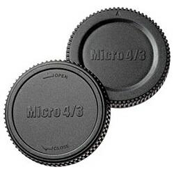 エツミETSUMIマイクロフォーサーズ用ボディー&リアーキャップセットE-6334[E6334マイクロフォーサーズボデ]