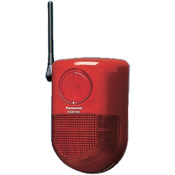 パナソニックPanasonicECD6130K小電力型ワイヤレス警報ランプ付ブザー受信器(屋側用)「かんたんマモリエ」ECD6130K[ECD6130K]panasonic