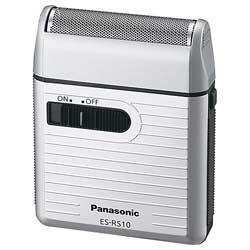 パナソニックPanasonicメンズシェーバーシルバー調ES-RS10-S[1枚刃][電気シェーバー髭剃りESRS10S]