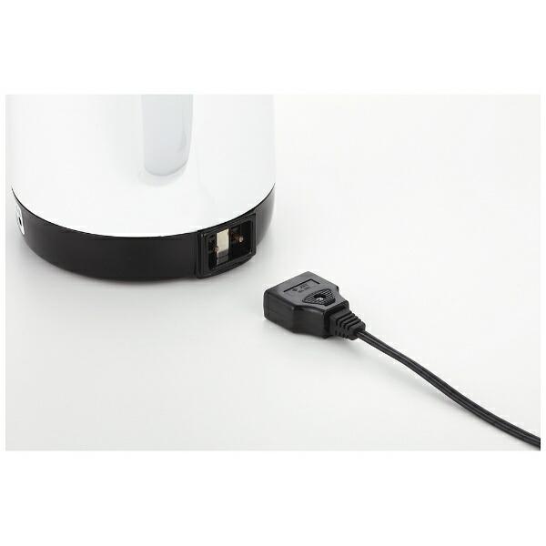 テスコムTESCOMTP18電気ポットPureBlackホワイト[1.2L][TP18]