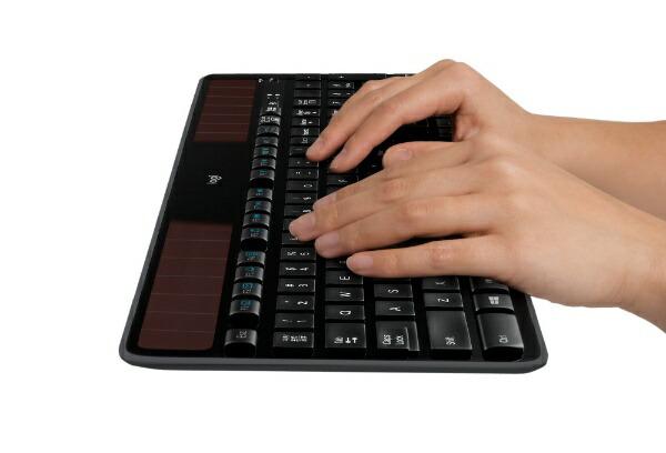 ロジクールLogicoolK750rキーボード[USB/ワイヤレス][K750R]