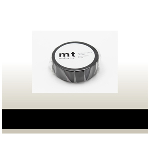 カモ井加工紙KAMOImtマスキングテープ(マットブラック)MT01P207