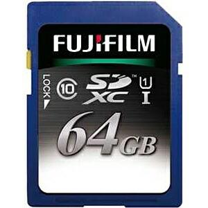 富士フイルムFUJIFILMSDXCカードFSDXC064GC10U1[64GB/Class10][FSDXC064GC10U1]