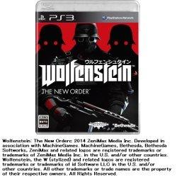 ベセスダソフトワークスBethesdaSoftworksウルフェンシュタイン:ザニューオーダー【PS3ゲームソフト】