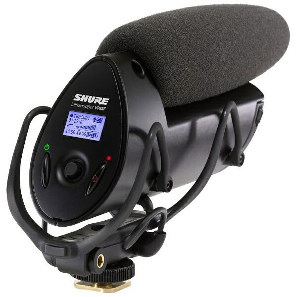 SHUREシュアービデオカメラ用マイクVP83F