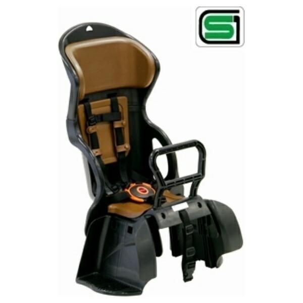 OGKオージーケーOGKヘッドレスト付カジュアルリヤチャイルドシート(黒×茶)RBC-015DX[RBC015DX]