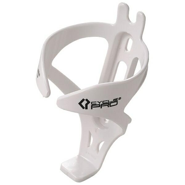 CYCLEPROサイクルプロ軽量樹脂製ボトルケージ(ホワイト)CP-BC1460[CPBC1460]