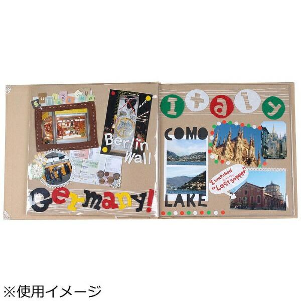 万丈VANJOHKAZARUアルバム8インチ用替え台紙(5ポケット入)