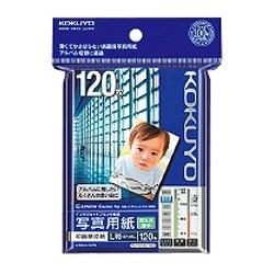 """コクヨKOKUYO""""IJP用写真用紙""""印画紙原紙高光沢・薄手(L判・120枚)KJ-D13L-120[KJD13L120]【wtcomo】"""