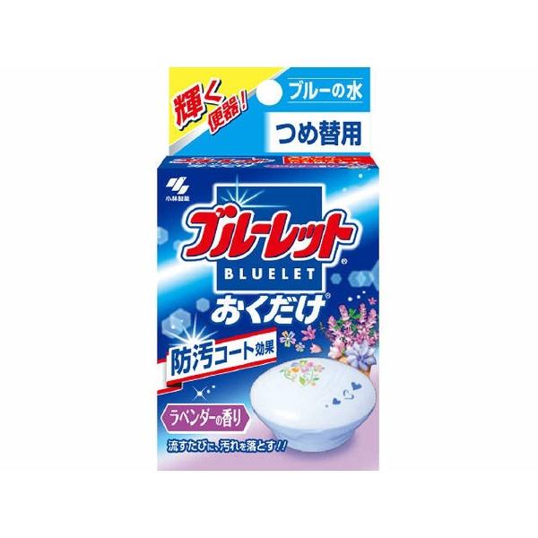 小林製薬Kobayashiブルーレットおくだけラベンダーの香りブルーの水つめかえ用〔トイレ用洗剤〕【wtnup】