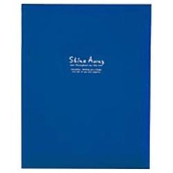 キングA4フリーアルバムF10BK(黒台紙10枚/ブルー)70680
