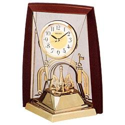 セイコーSEIKO置き時計ブラウンBY426B