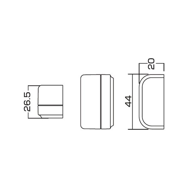 サンワサプライSANWASUPPLY20Aコンセントバー用防塵カバーTAP-MZ6526[スイッチ無][TAPMZ6526]
