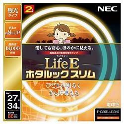 NECエヌイーシーFHC86EL-LE-SHG丸形スリム蛍光灯(FHC)LifeEホタルックスリム[電球色][FHC86ELLESHG]