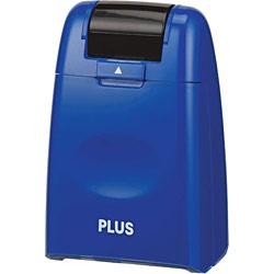 プラスPLUS個人情報保護スタンプ「ローラーケシポン」(レギュラーサイズ26mm幅・ブルー)IS-500CM-BBL[IS500CMBBL]