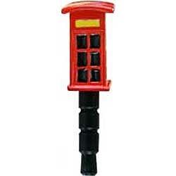 ハシートップインHashy〔イヤホンジャックアクセサリー〕plugy&plugoロンドン(電話ボックス)SP-2594