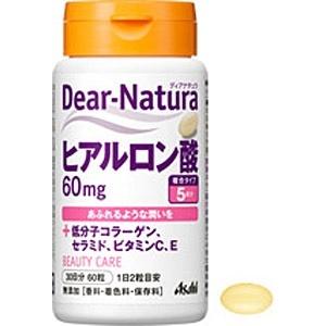 アサヒグループ食品AsahiGroupFoodsDear-Natura(ディアナチュラ)ヒアルロン酸(60粒)〔栄養補助食品〕